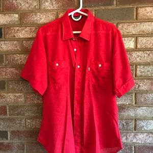 Vintage Levi's USA button down shirt